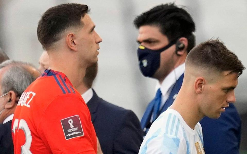 Emiliano Martínez and Giovani Lo Celso - Spurs players face fines after going against club's wishes to play in World Cup qualifiers - AP