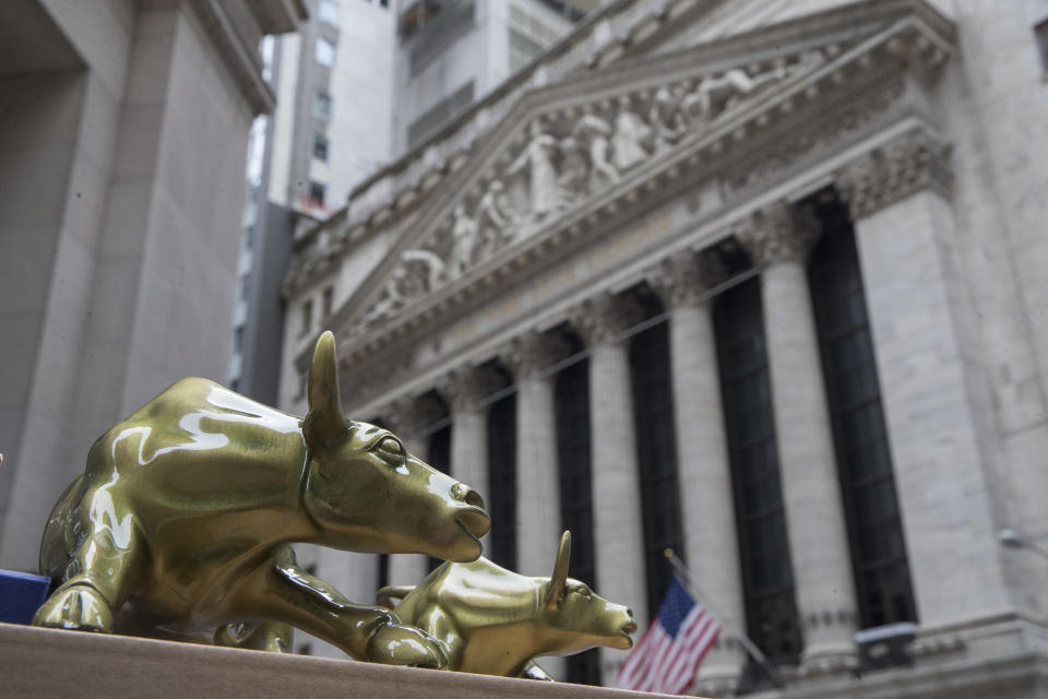 The U.S. stock market remains strong despite escalating trade tensions between the U.S. and China. (AP Photo/Mary Altaffer, File)
