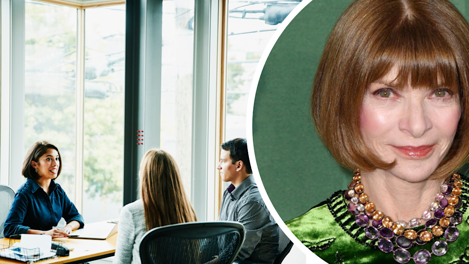 Anna Wintour hates meetings. Source: Getty