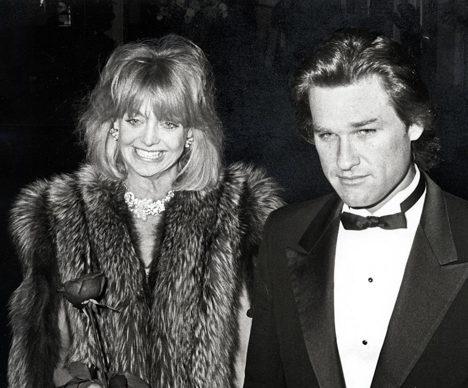 Goldie Hawn and Kurt Russell during Opening of the American Ballet Theater & Gala Party at American Ballet Theater/Beverly Wilshire Hotel in Beverly Hills, California, United States. (Photo by Ron Galella/Ron Galella Collection via Getty Images)