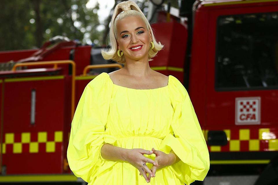 Katy Perry on 11 March 2020 in Bright, Australia: Daniel Pockett/Getty Images