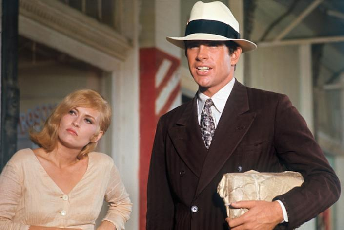 """Faye Dunaway and Warren Beatty in """"Bonnie and Clyde."""" (Photo: Bettmann via Getty Images)"""