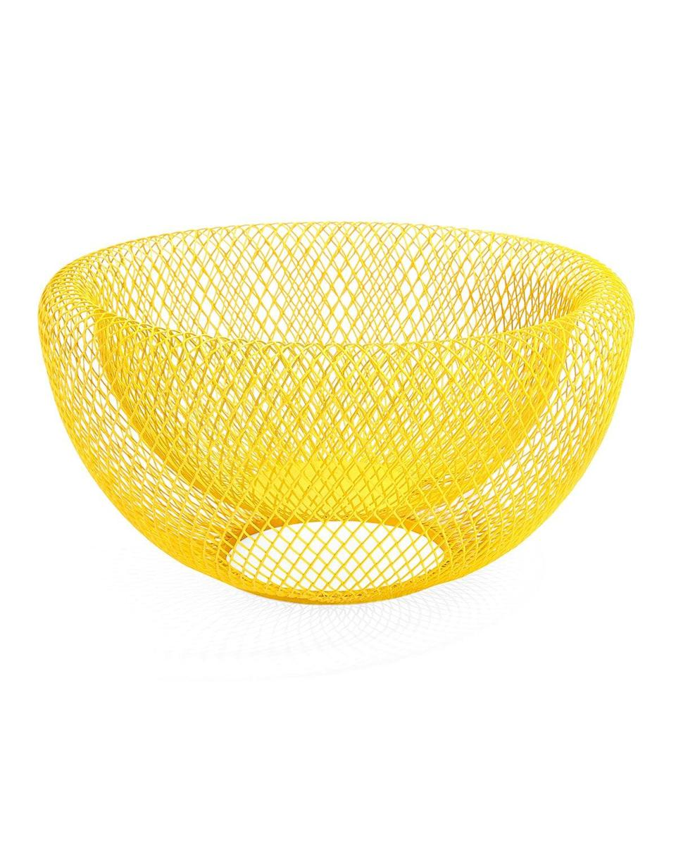 """<br><br><strong>MoMA</strong> MoMA Wire Mesh Bowl, $, available at <a href=""""https://go.skimresources.com/?id=30283X879131&url=https%3A%2F%2Ffave.co%2F38eWKde"""" rel=""""nofollow noopener"""" target=""""_blank"""" data-ylk=""""slk:Neiman Marcus"""" class=""""link rapid-noclick-resp"""">Neiman Marcus</a>"""