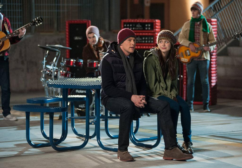 "Finn (Cory Monteith) and Marley (Melissa Benoist) try to keep the Glee Club together in the ""Swan Song"" episode of ""Glee."""