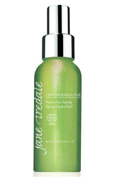 """This natural and organic hydration spray conditions, protects and energizes your skin and spirit. With every purchase, 100% of the profits from Lemongrass Love Hydration Spray are donated to Living Beyond Breast Cancer. Get it <a href=""""http://shop.nordstrom.com/s/jane-iredale-lemongrass-love-hydration-spray/4507948?origin=keywordsearch-personalizedsort&fashioncolor=STERLING%20SILVER%20RIBBON"""" target=""""_blank""""><strong>here</strong></a>."""