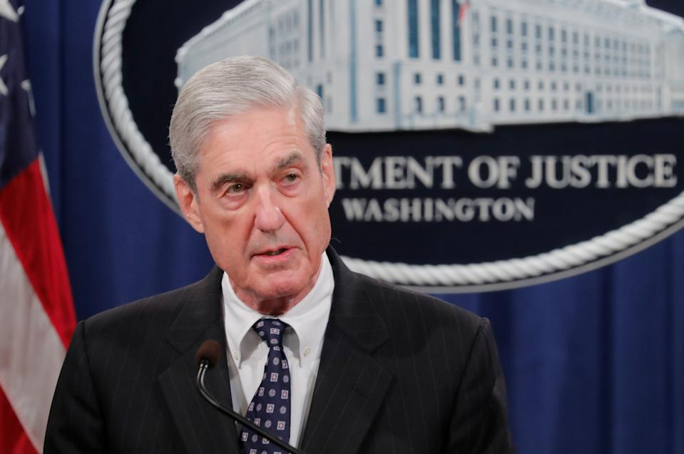 U.S. Special Counsel Robert Mueller makes a statement on his investigation into Russian interference in the 2016 U.S. presidential election at the Justice Department in Washington, U.S., May 29, 2019. (Photo: Jim Bourg/Reuters)