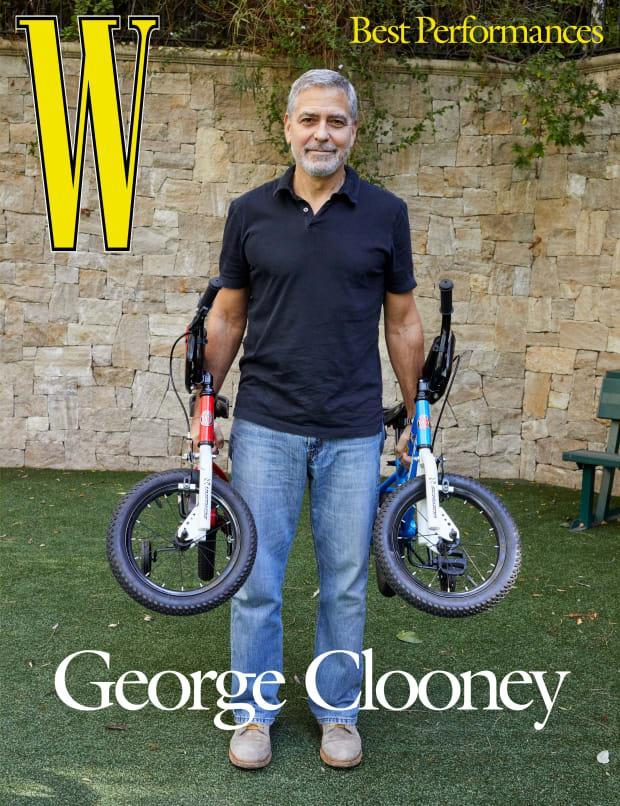 <p>George Clooney on the cover of <em>W</em>'s Best Performances issue. Photo: Juergen Teller/Courtesy of <em>W</em></p>