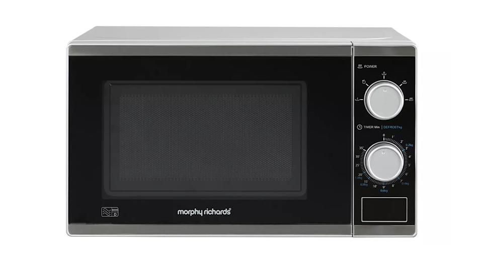 Morphy Richards 800W Standard Microwave