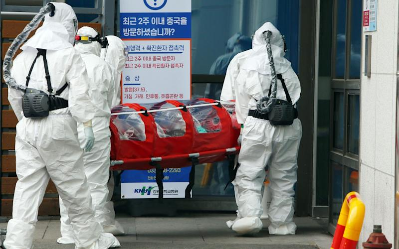 South Korea reported 142 more coronavirus cases on Friday - AFP