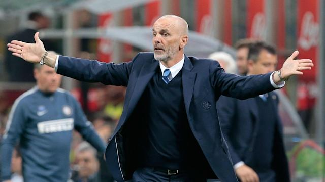 Stefano Pioli has been sacked by Inter with the club sitting seventh in Serie A.