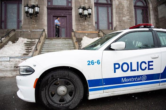 A Montreal police vehicle in 2019