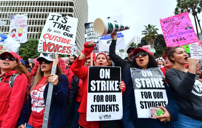 As US teachers ramp up pressure, face reality: L.A. strike was about control, not students