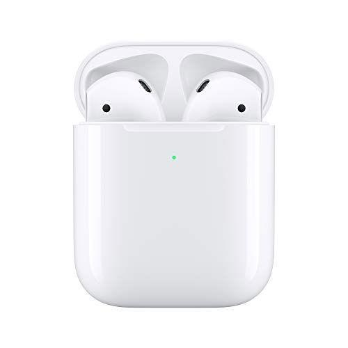 """<p><strong>Apple</strong></p><p>amazon.com</p><p><strong>$149.99</strong></p><p><a href=""""https://www.amazon.com/dp/B07PYLT6DN?tag=syn-yahoo-20&ascsubtag=%5Bartid%7C2140.g.32268112%5Bsrc%7Cyahoo-us"""" rel=""""nofollow noopener"""" target=""""_blank"""" data-ylk=""""slk:Shop Now"""" class=""""link rapid-noclick-resp"""">Shop Now</a></p><p>The newest AirPods promise noise cancellation and a snugger fit than the originals. If your FIL is FIT, these will make getting into the zone for his walks or runs that much easier.</p>"""