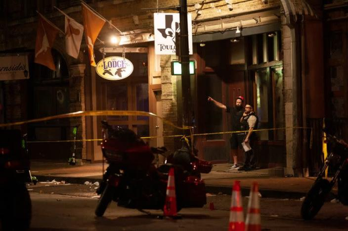 Shooting in the Sixth Street Entertainment District area of Austin