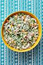 "<p>This salad is a family favorite from Ree's childhood—and it'll quickly become a favorite in your household too. Packed with bits of crisp bacon, cheddar cheese and peas, it's incredibly satisfying and super original to boot.</p><p><strong><a href=""https://www.thepioneerwoman.com/food-cooking/recipes/a12025/pea-salad/"" rel=""nofollow noopener"" target=""_blank"" data-ylk=""slk:Get the recipe"" class=""link rapid-noclick-resp"">Get the recipe</a>.</strong></p><p><strong><a class=""link rapid-noclick-resp"" href=""https://go.redirectingat.com?id=74968X1596630&url=https%3A%2F%2Fwww.walmart.com%2Fsearch%2F%3Fquery%3Dserving%2Bspoons&sref=https%3A%2F%2Fwww.thepioneerwoman.com%2Ffood-cooking%2Fmeals-menus%2Fg35589850%2Fmothers-day-dinner-ideas%2F"" rel=""nofollow noopener"" target=""_blank"" data-ylk=""slk:SHOP SERVING SPOONS"">SHOP SERVING SPOONS</a></strong></p>"