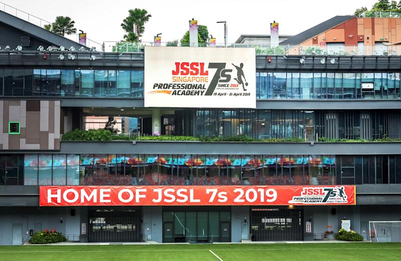 Top five goals scored in the JSSL 7s competition