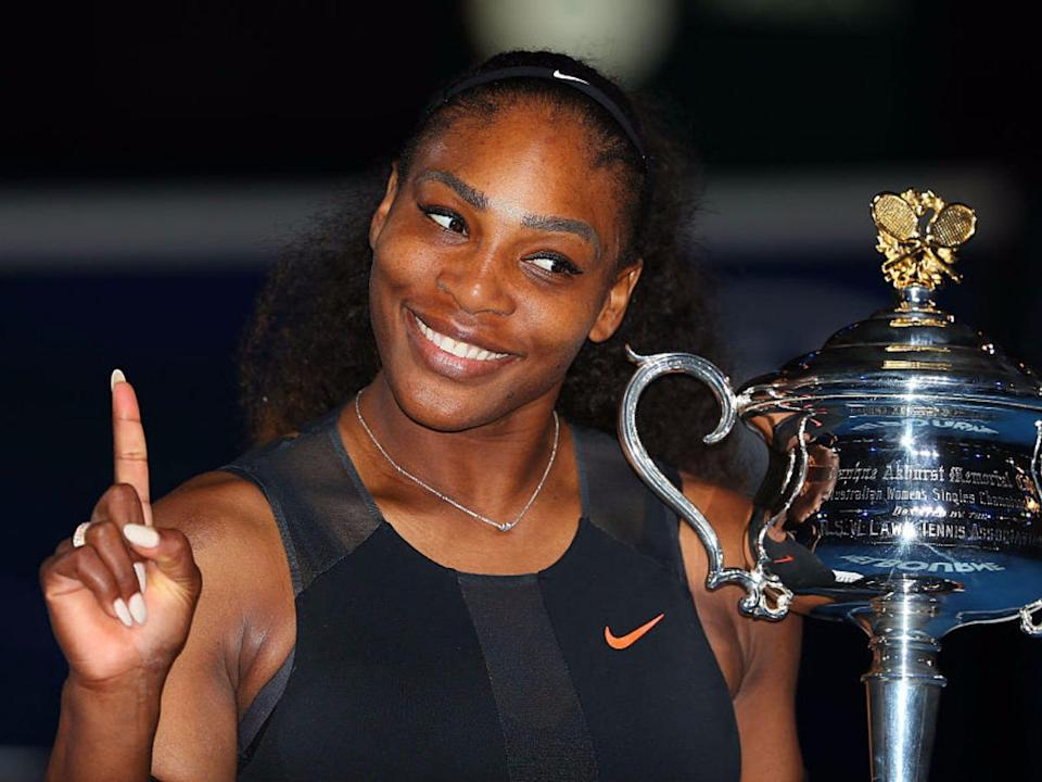 """Serena Williams' routine was challenging but surprisingly doable. <p class=""""copyright""""><a href=""""http://www.gettyimages.com/license/632915024"""" rel=""""nofollow noopener"""" target=""""_blank"""" data-ylk=""""slk:Scott Barbour/Stringer/Getty Images"""" class=""""link rapid-noclick-resp"""">Scott Barbour/Stringer/Getty Images</a></p>"""