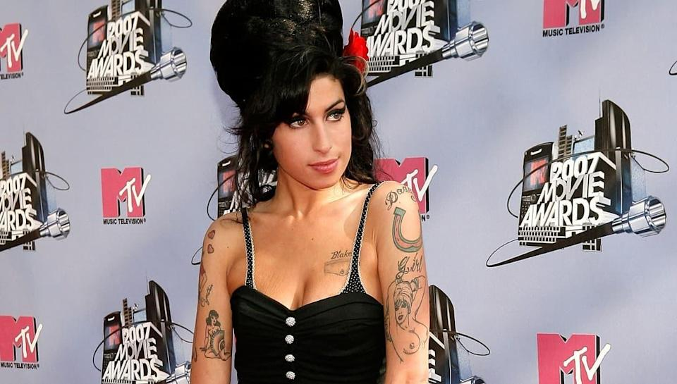 Amy Winehouse aux MTV Movie Awards en 2007. - Vince Bucci - Getty Images North America - Getty Images