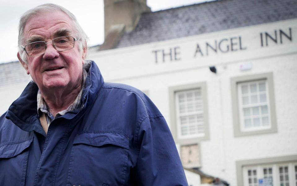 David Walters who was barred entry to the Angel Inn in Corbridge, Northumberland - Mark Pinder