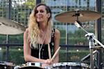 GALLERY >> Chanel's Resort 2013 Collection Alice Dellal drums