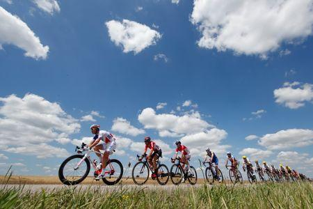Cycling - The 104th Tour de France cycling race - The 207.5-km Stage 4 from Mondorf-les-Bains, Luxembourg to Vittel, France - July 4, 2017 -  Cyclists in action. REUTERS/Christian Hartmann