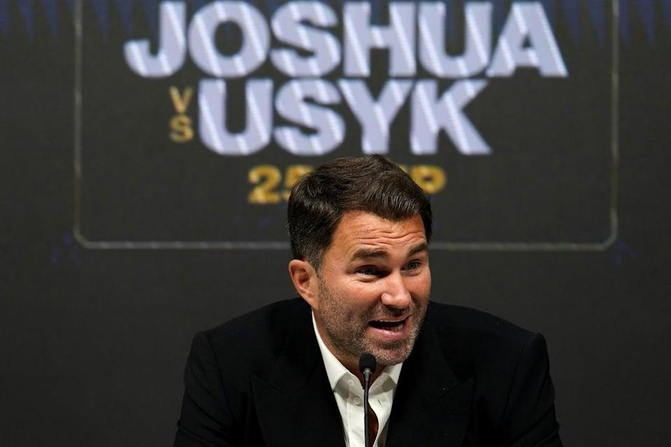 Eddie Hearn does not see a rematch in Kiev (Nick Potts/PA) (PA Wire)