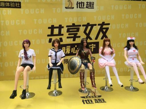 Fun's over: China's shared sex dolls snuffed out
