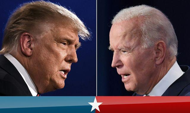 Us Election 2020 Head To Head For The Last Time As Trump And Biden Prepare For The Final Presidential Debate