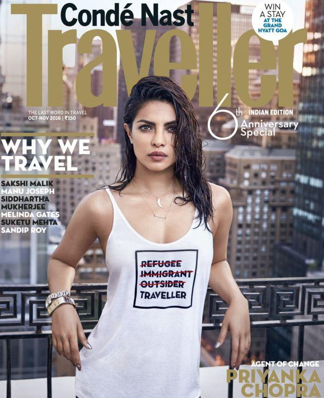 Priyanka Chopra Apologizes for Controversial Refugee Shirt