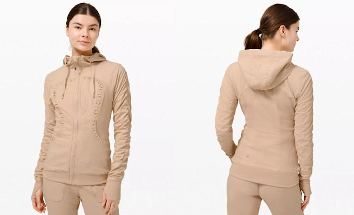 The Lululemon Dance Studio Jacket III is marked down this week as part of the brand's We Made Too Much section.
