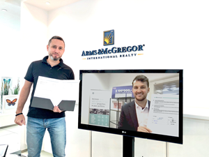 Blocksquare forms partnership with Arms & McGregor International Realty