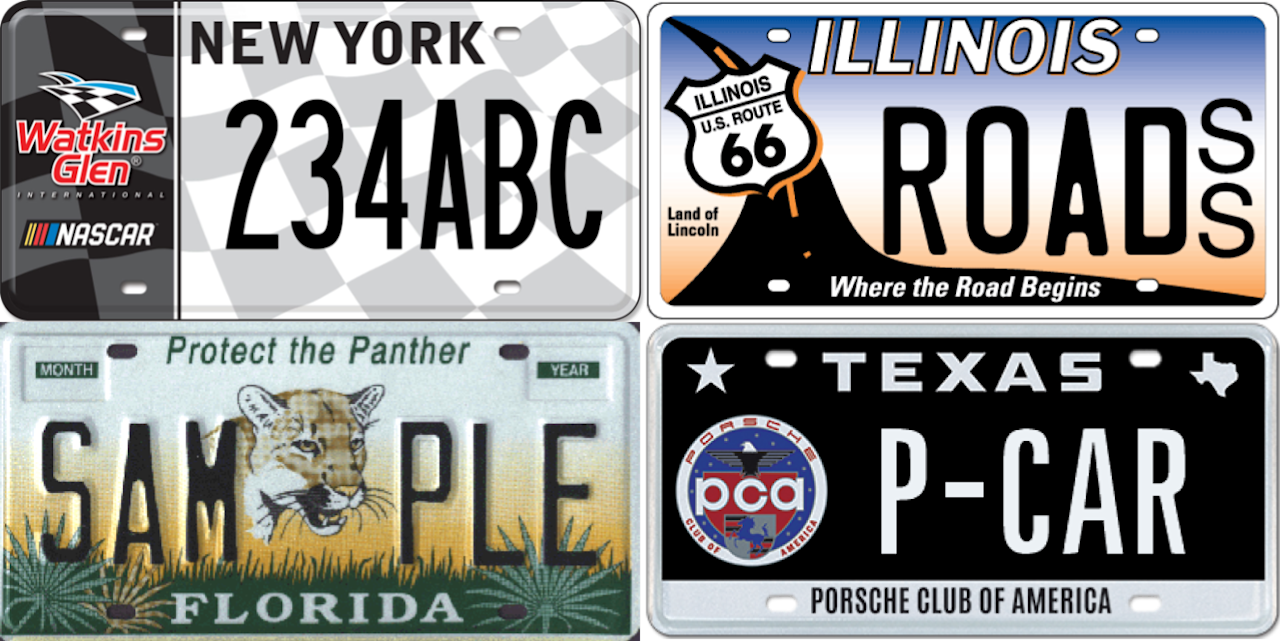 <p>Every state in the US offers a variety of specialty license plates with way more style and flair than the standard design. Here are some of the coolest. </p>