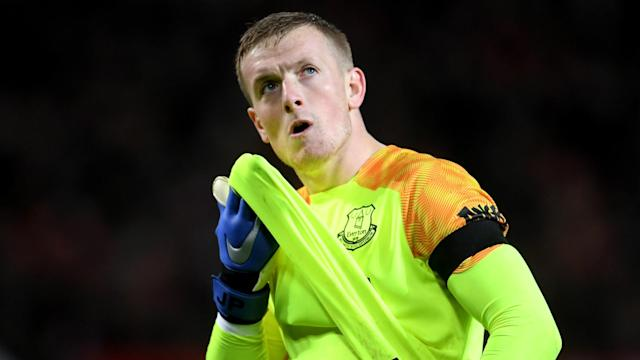 Jordan Pickford Everton 2018