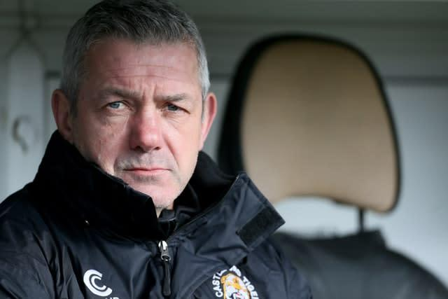 Daryl Powell feels there is a 'confused scenario' in the game regarding coronavirus (Richard Sellers/PA)