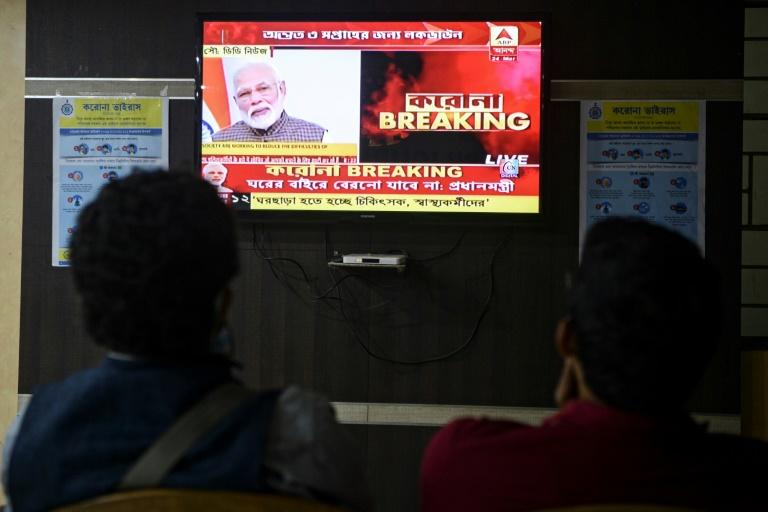 Indian Prime Minister Narendra Modi has described the harassment of coronavirus frontline medical workers as a 'huge issue' (AFP Photo/DIPTENDU DUTTA)