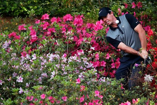 """<a class=""""link rapid-noclick-resp"""" href=""""/pga/players/8016/"""" data-ylk=""""slk:Rory McIlroy"""">Rory McIlroy</a> might not have as much trouble with azaleas this year. (Getty)"""