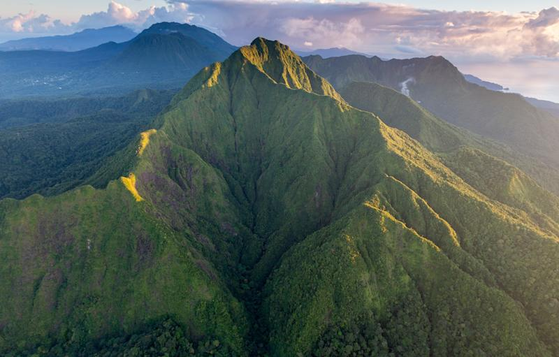 You could be soaking up nature on the lush island of Dominica - Getty