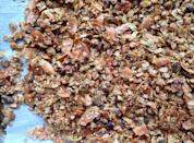 """<p>A granola that everyone will love. It's great over yogurt or on its own!</p><p>Get the recipe from <a href=""""https://www.delish.com/cooking/a41910/best-granola-recipe/"""" rel=""""nofollow noopener"""" target=""""_blank"""" data-ylk=""""slk:Delish"""" class=""""link rapid-noclick-resp"""">Delish</a>. </p>"""