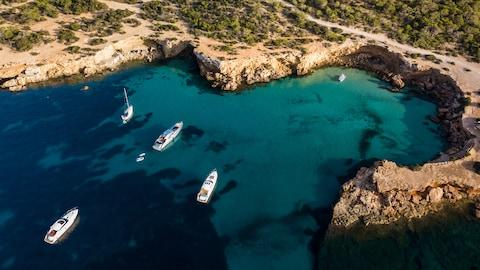 Ibiza too has undergone a major gentrification over the years - Credit: Getty