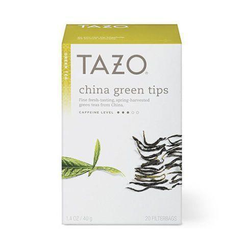 """<p><strong>Tazo</strong></p><p>amazon.com</p><p><strong>$21.60</strong></p><p><a href=""""https://www.amazon.com/dp/B01EYCILUK?tag=syn-yahoo-20&ascsubtag=%5Bartid%7C2089.g.2205%5Bsrc%7Cyahoo-us"""" rel=""""nofollow noopener"""" target=""""_blank"""" data-ylk=""""slk:Shop Now"""" class=""""link rapid-noclick-resp"""">Shop Now</a></p><p>These spring-harvested green tea tips are sourced from China and yield a rich, earthy flavor with slightly floral notes. This versatile tea works beautifully hot or iced, making it a great choice to keep in the cupboard year-round.</p>"""