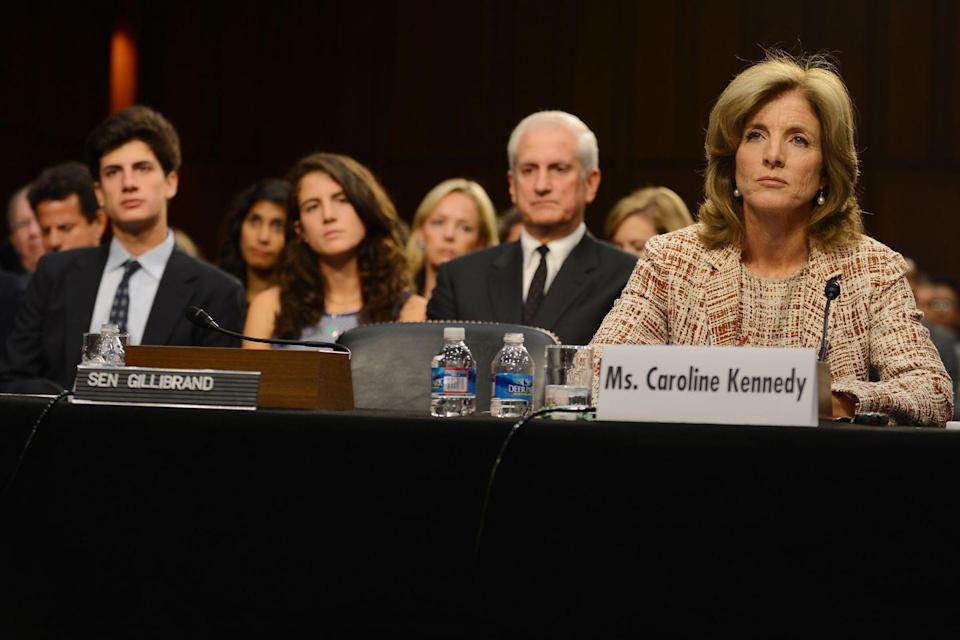 <p>Caroline Kennedy goes before the U.S. Senate Foreign Relations Committee to determine if she will be the next U.S. Ambassador to Japan. </p>