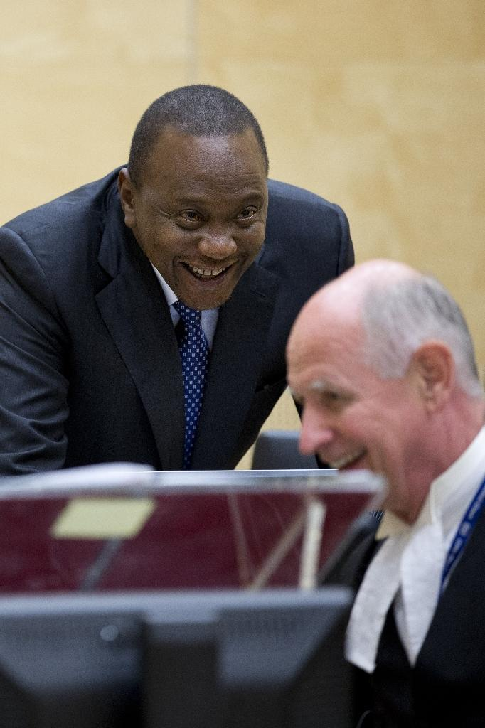 Kenya's president Uhuru Kenyatta, the first sitting head of state to appear before the ICC, was acquitted in 2014 (AFP Photo/PETER DEJONG)
