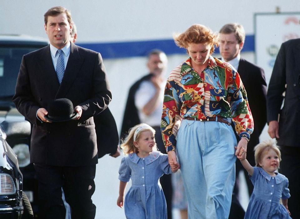 """<p>Another one of the Queen's children, Prince Andrew, announced his separation from wife Sarah Ferguson in 1992. The Queen has since called the year of 1992 """"<a href=""""https://www.washingtonpost.com/world/2019/12/24/queen-elizabeth-called-horrible-year-royal-family-might-have-been-worse/"""" rel=""""nofollow noopener"""" target=""""_blank"""" data-ylk=""""slk:annus horribilus"""" class=""""link rapid-noclick-resp"""">annus horribilus</a>,"""" meaning horrible year in Latin.</p>"""