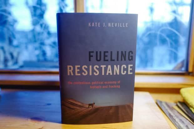 The cover of Neville's book, Fueling Resistance.