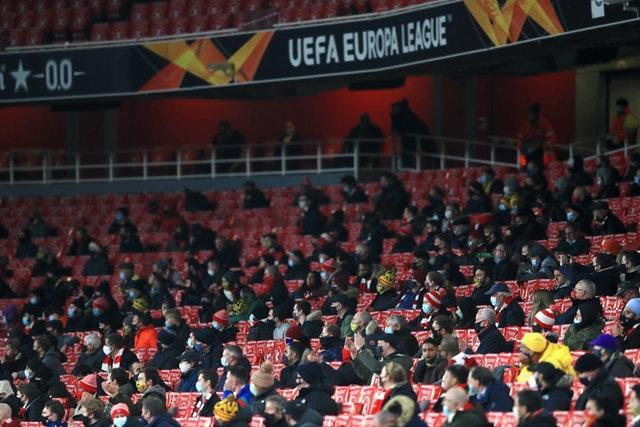 Arsenal welcomed fans back to the Emirates Stadium on Thursday