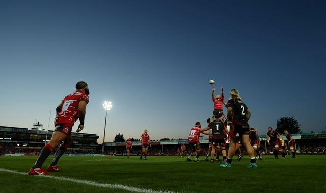 A pre-season friendly between Gloucester and Dragons