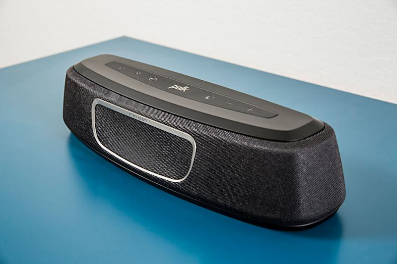 Polk showcases a shrunken sound bar and hi-fi speakers at CEDIA 2016