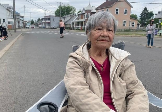 Kakaionstha Deer, a residential school survivor, has been open about sharing her story with students and young people.