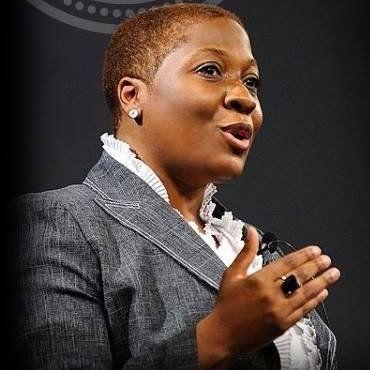 Jehmu Greene, a progressive media strategist and Fox News contributor, announced her DNC candidacy on Jan. 13, 2017.