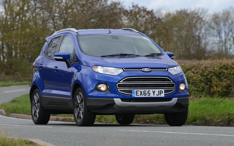 The Ford EcoSport isn't a terrible car... but it isn't good, either -